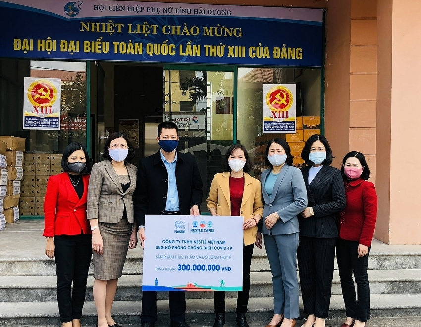 Nestlé Vietnam supporting frontliners in fighting COVID-19