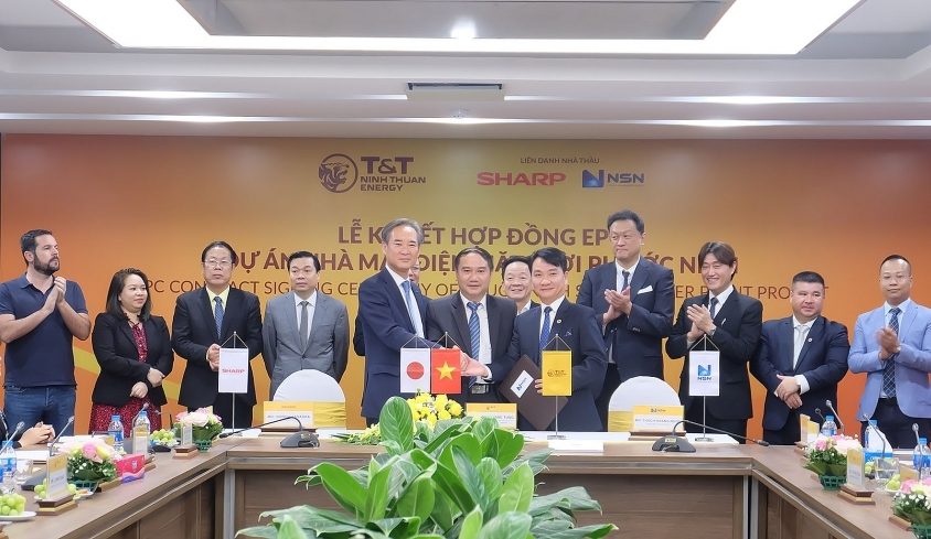 SESJ-SSSA-NSN consortium signs EPC deal for Phuoc Ninh solar project