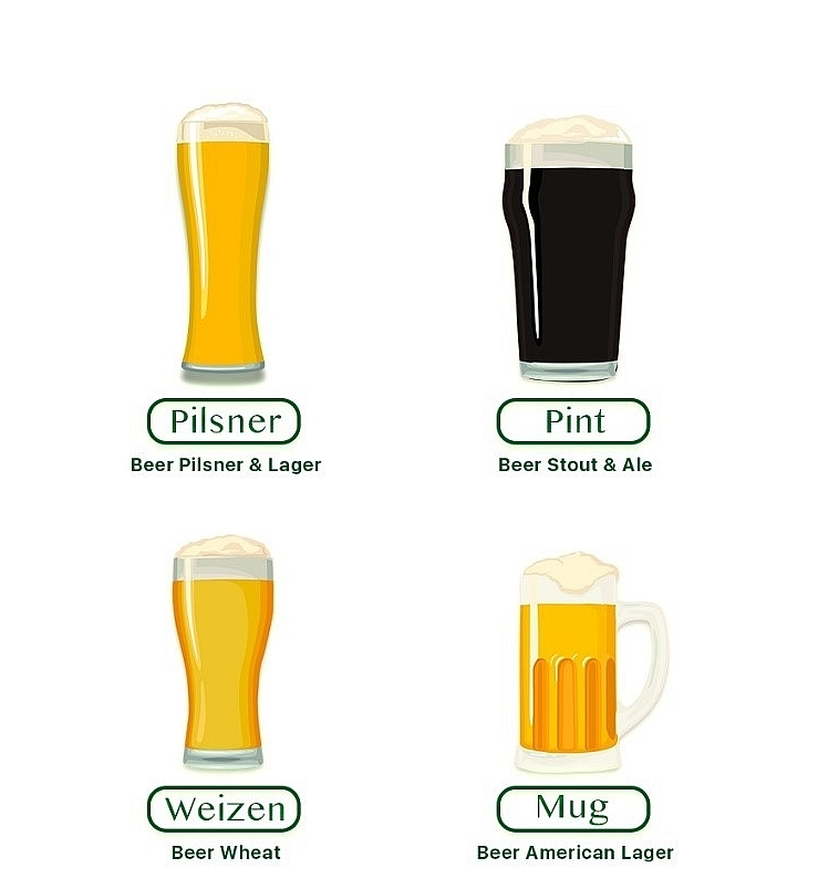 Four steps to enjoy a beer professionally