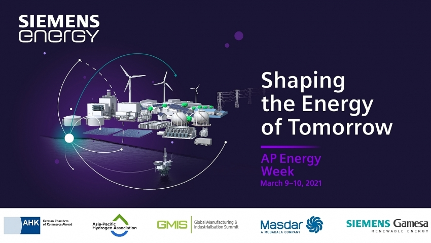 World-class lineup at first-ever Siemens Energy Asia-Pacific Energy Week