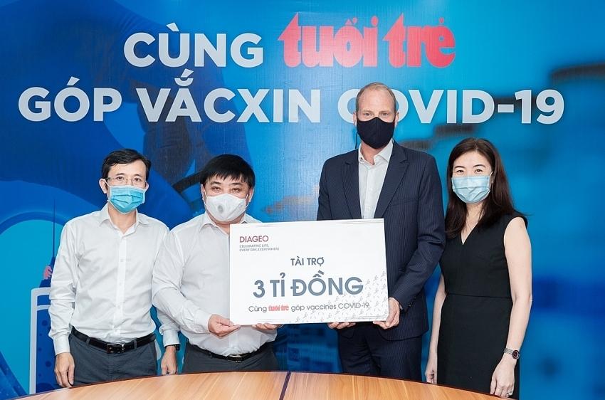 Diageo Vietnam donates $130,430 to help thousands get free vaccination