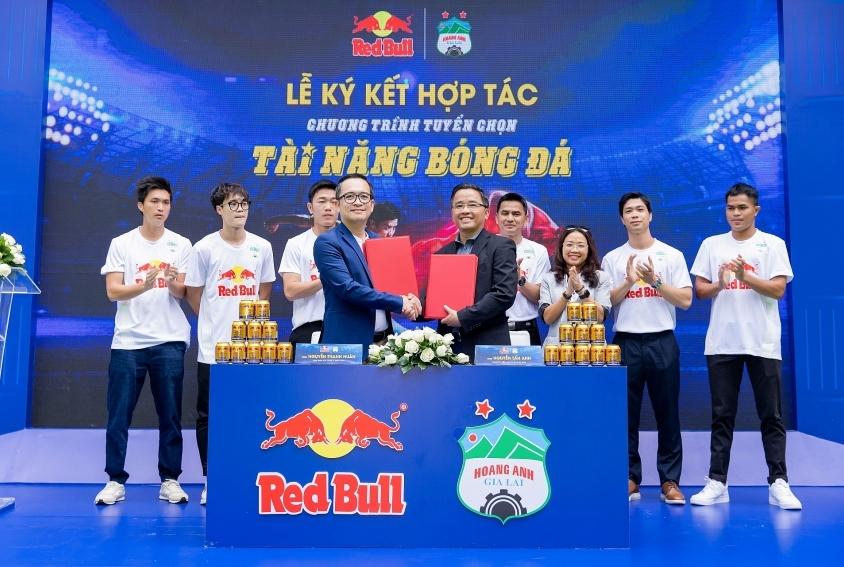 Red Bull and HAGL Football Club kick off young talent recruitment tournament