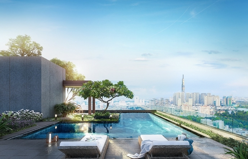 What is the success formula for The Marq luxury condominium project?
