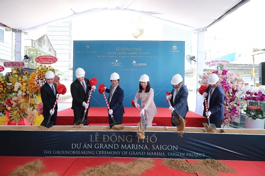 Masterise Homes breaks ground on world's largest Marriott Branded Residences in Vietnam