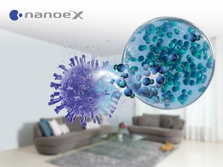 Inhibitory effect on SARS-CoV-2 confirmed for Panasonic's air conditioner with nanoe X
