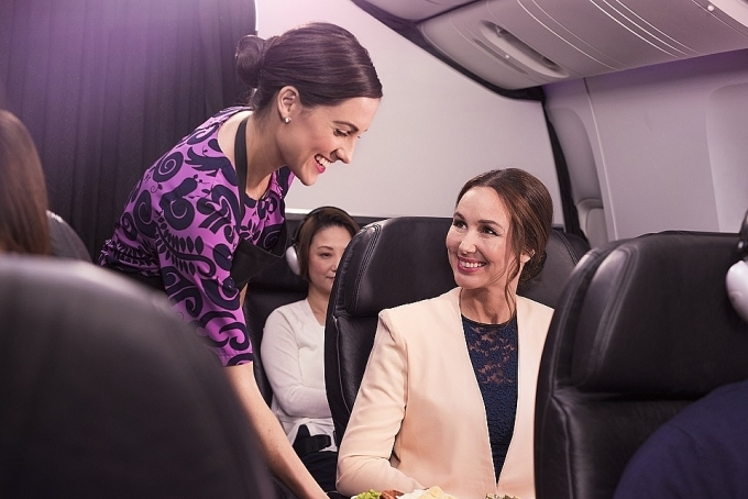 Air New Zealand ranked second of all airlines