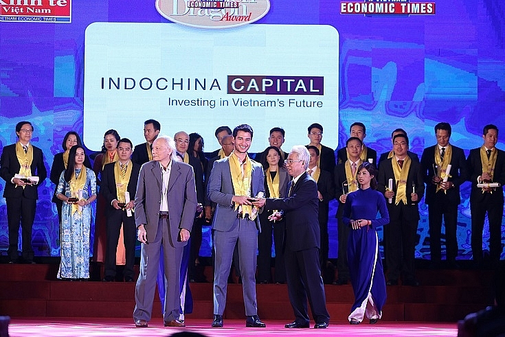 indochina capital named the best real estate consultant at golden dragon awards ceremony