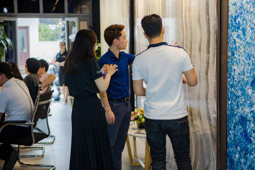 first showroom featuring renowned us quartz brand cambria opens in hanoi