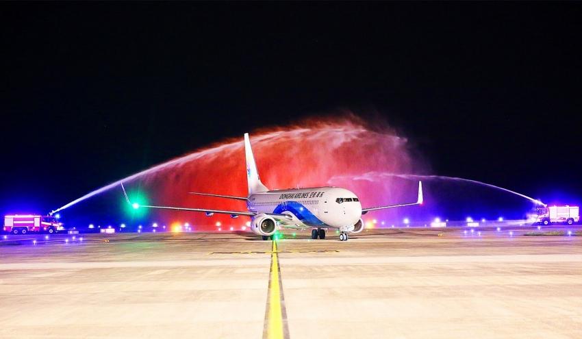 van don international airport receives first international flight