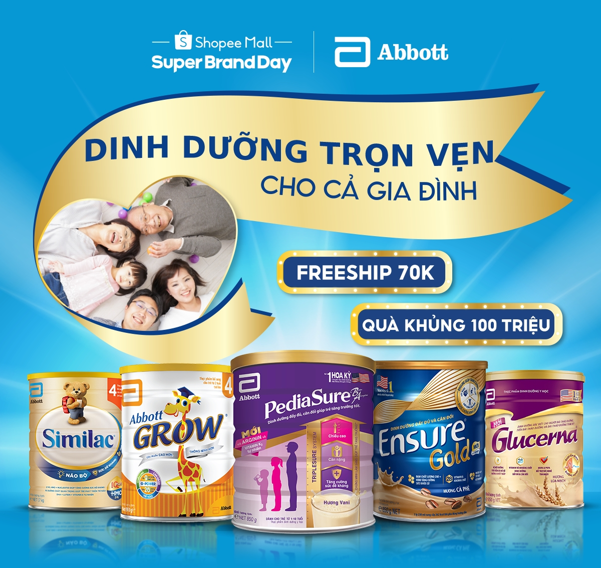 Abbott and Shopee to soon celebrate Family Nutrition Day