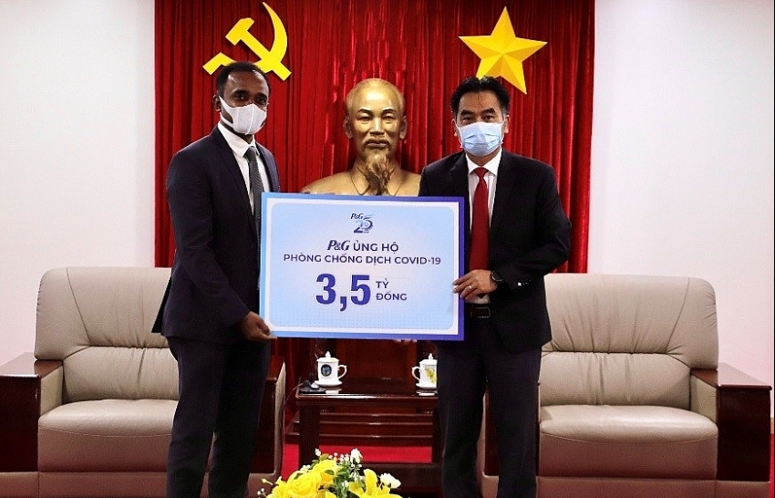 P&G Vietnam continues to support Vietnam in fourth wave of COVID-19