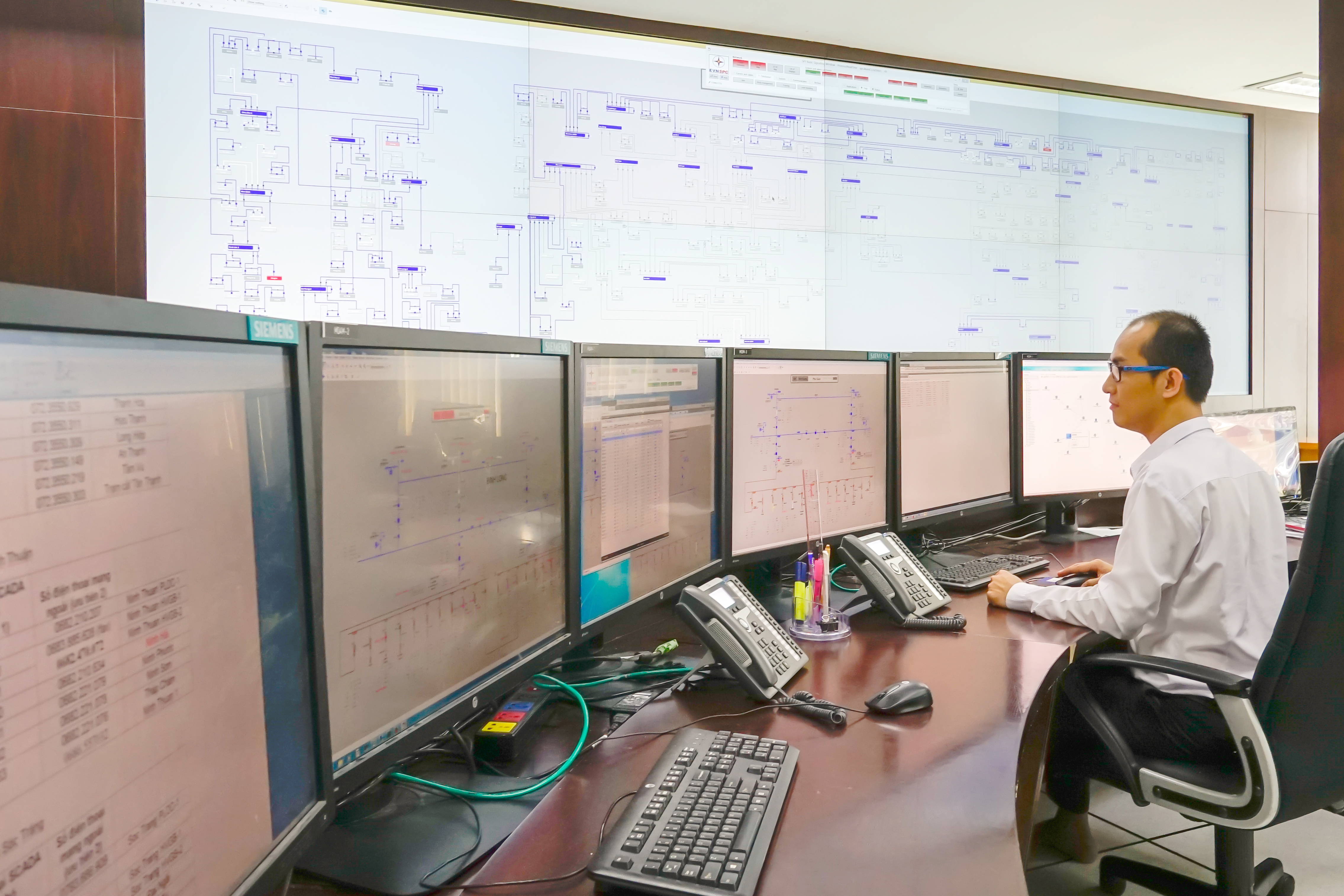 siemens and local power partner open new control centre for 21 provinces