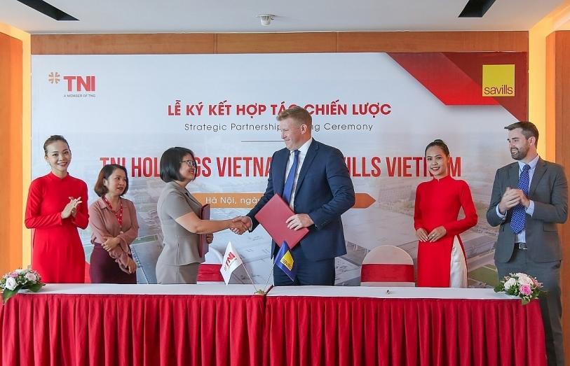TNI Holdings Vietnam and Savills Vietnam enter strategic partnership