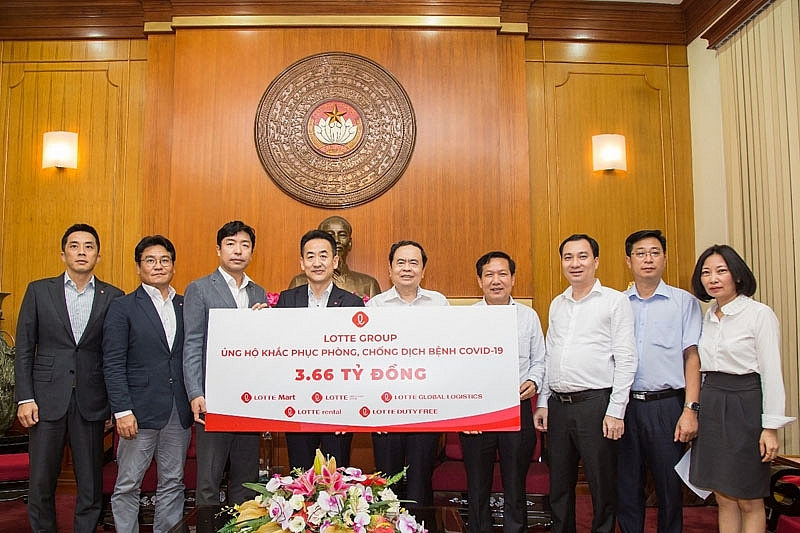 lotte group joins hands with vietnam for post pandemic recovery