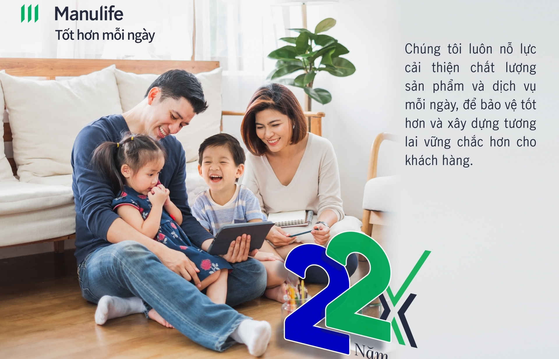 """Manulife Vietnam reaffirms """"Every day better"""" commitment as part of 22nd anniversary"""