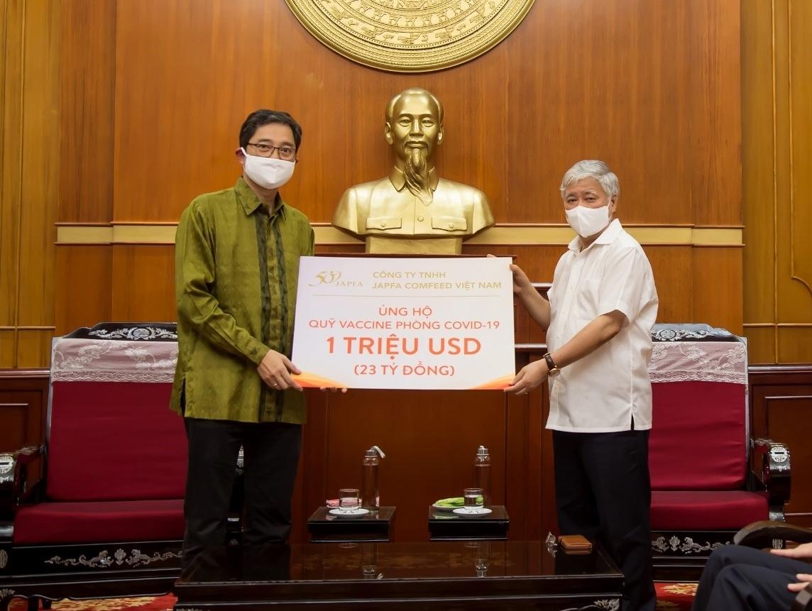 Japfa Vietnam donates $1 million to COVID-19 Vaccine Fund