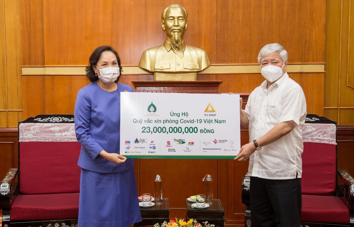 TCC Group contributes $1 million to Vietnam COVID-19 Vaccine Fund