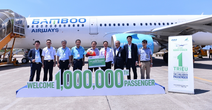 bamboo airways welcomes one millionth passenger