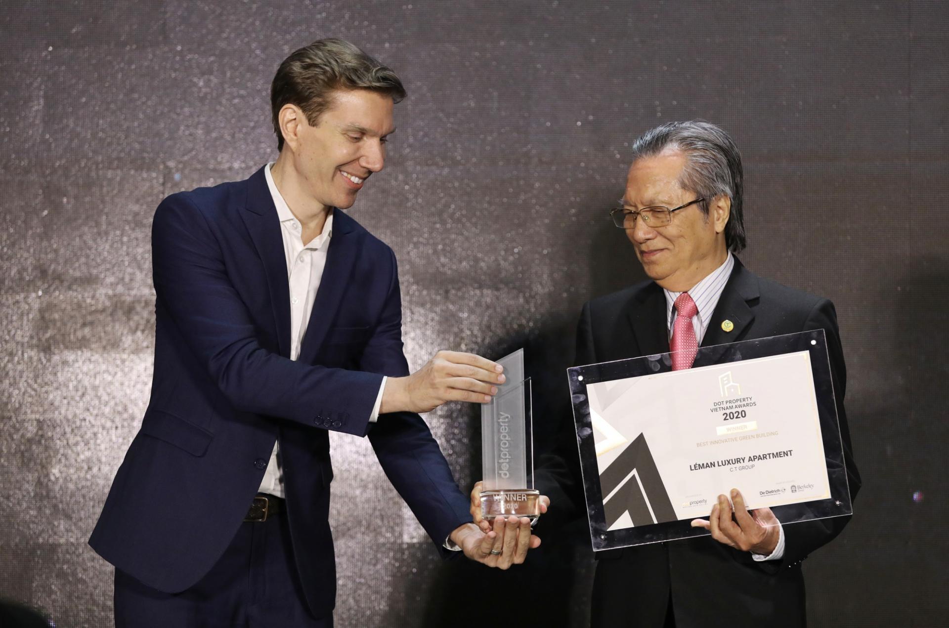 leman luxury wins dot property award 2020 for best innovative green building