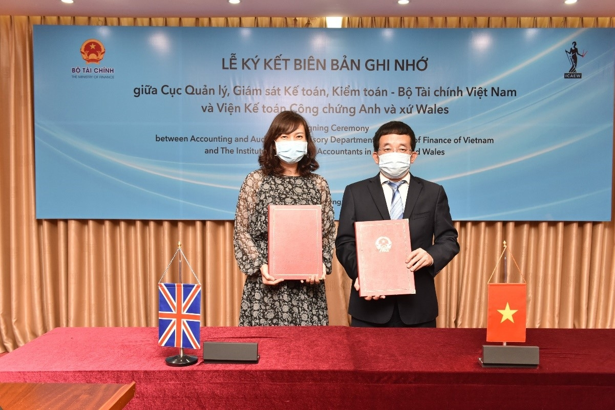 ICAEW teams up with Vietnam's Ministry of Finance to deepen accounting and auditing expertise