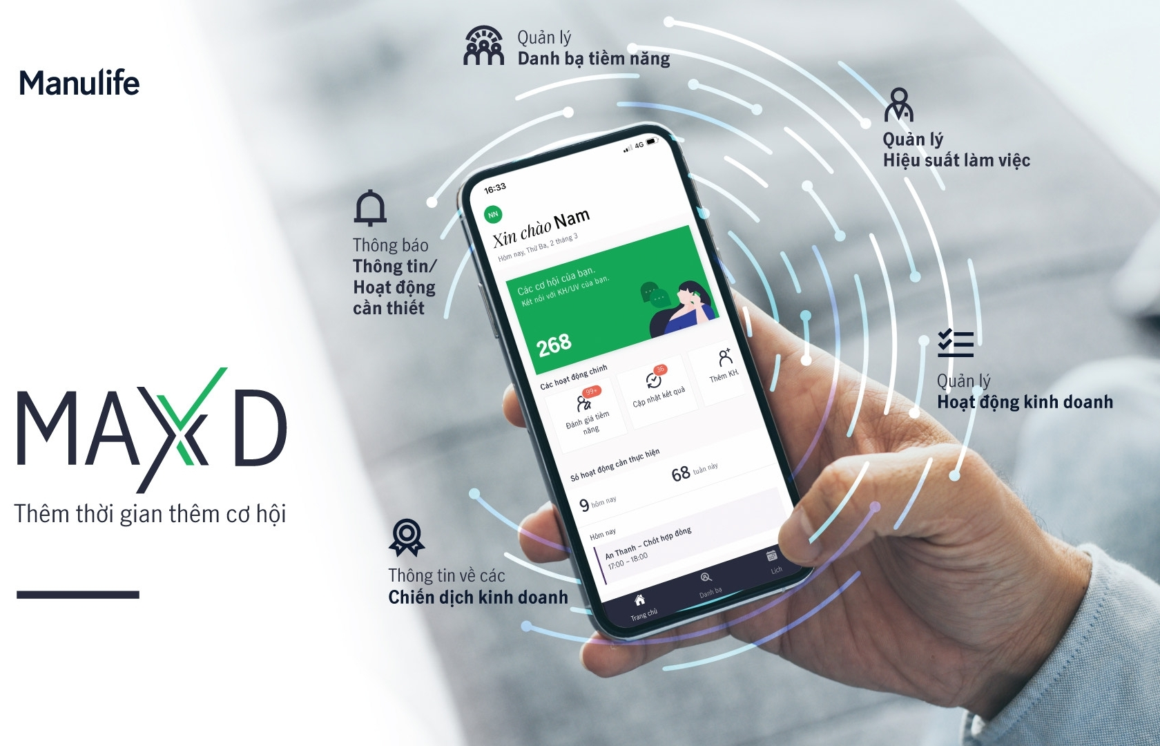 Manulife Vietnam launches innovative new personal virtual assistant for agents