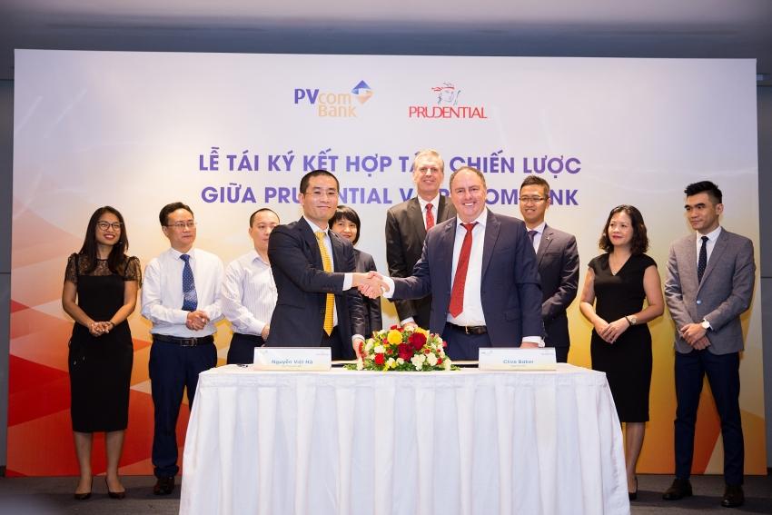 prudential vietnam and pvcombank sign exclusive long term partnership