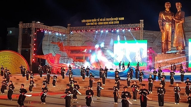 Vietnam International Martial Arts Festival wrapped up in Binh Dinh