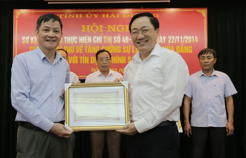 policy credit motivates development in hai duong province