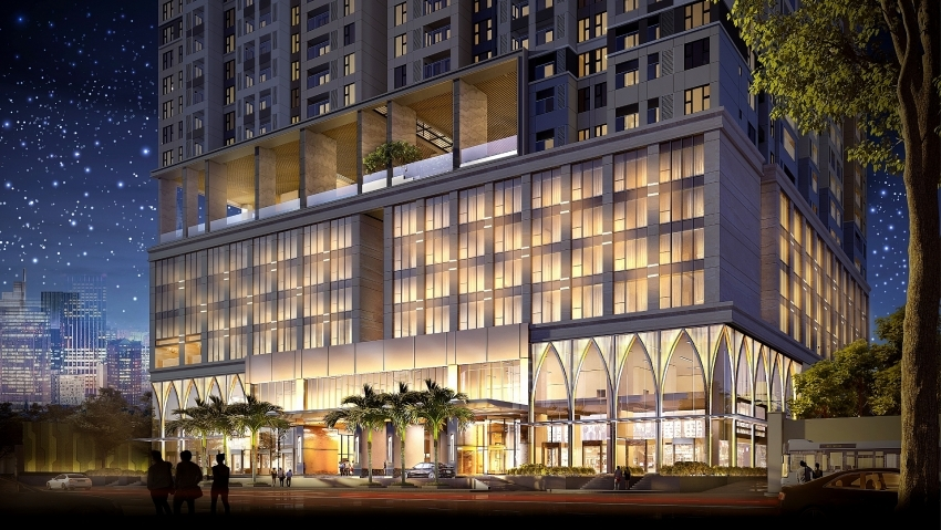 Residence-hotel complexes draw in Ho Chi Minh City's expats