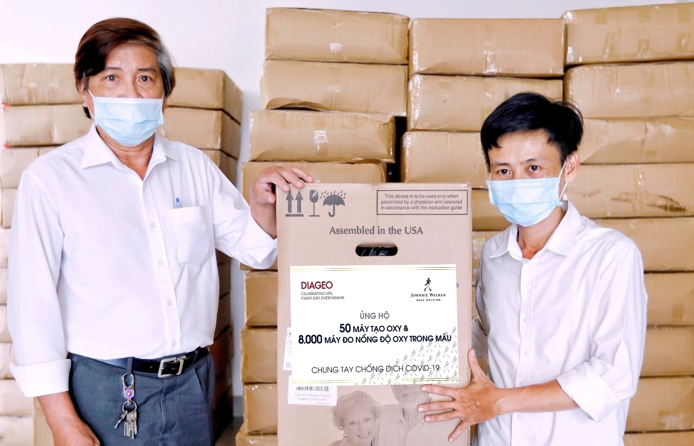 Diageo donates medical devices to support COVID-19 fight in Vietnam