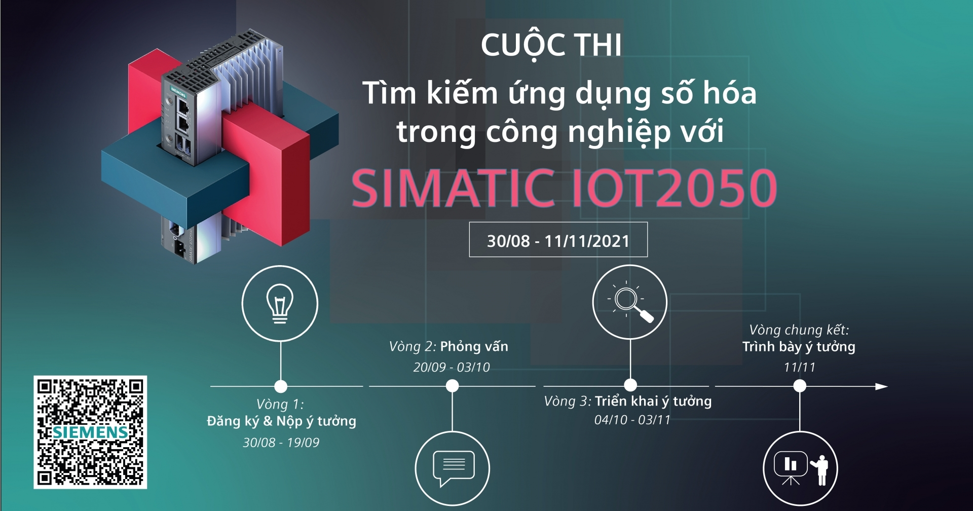 Siemens launches contest for Vietnamese engineers and students