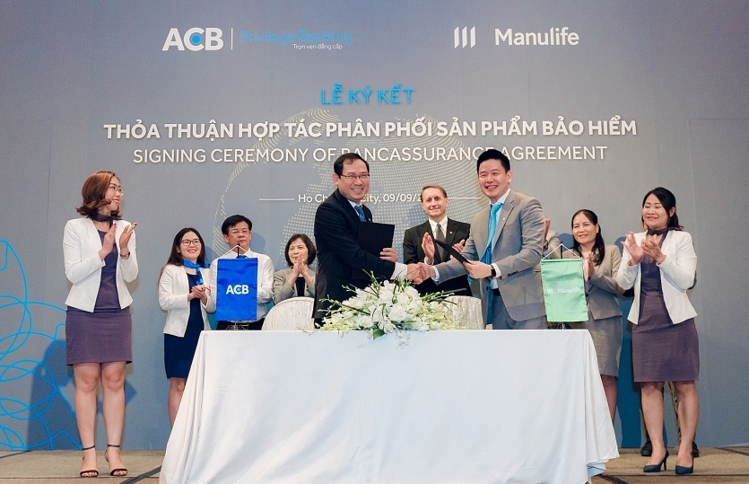 manulife vietnam forges bancassurance partnership with acb
