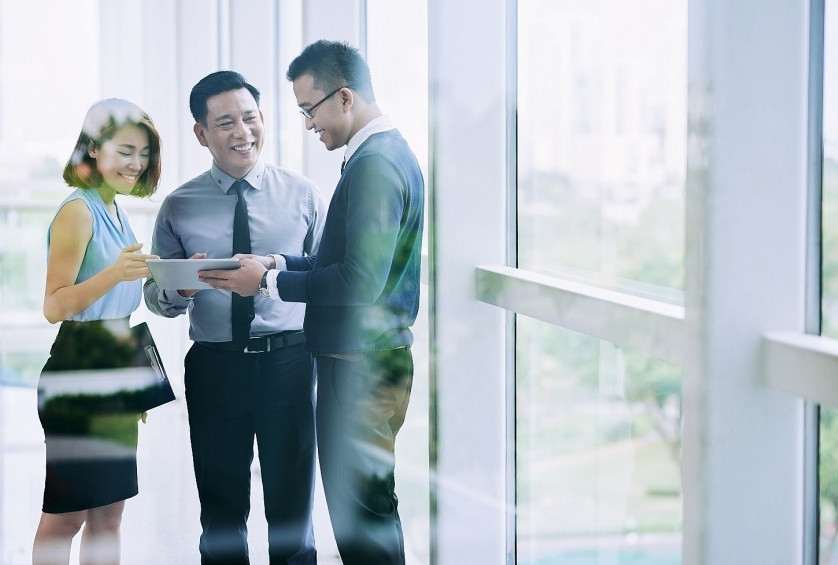 Group insurance plan helps enterprises to grow stronger