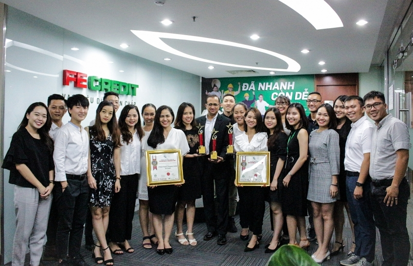 FE Credit scores hat-trick at CMO Asia Awards 2019