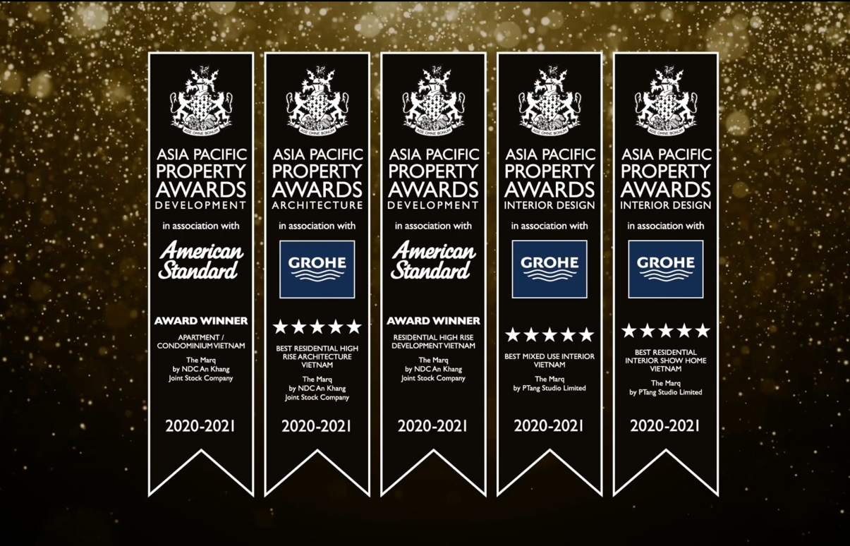 The Marq honoured with five prestigious awards at Asia-Pacific Property Awards