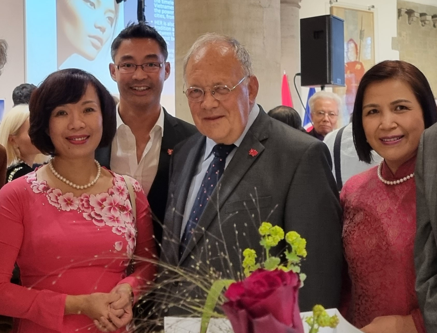 Former German vice chancellor to become Vietnam's honorary consul to Switzerland
