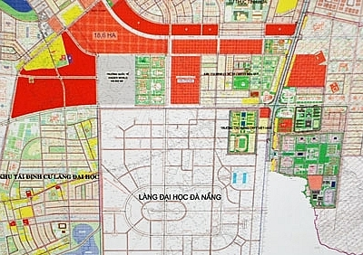 Movements around Danang University Village after 20 years of quiet