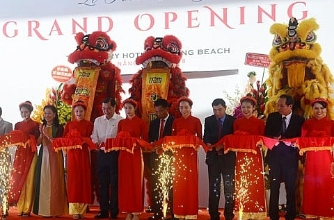 jubilant launching of tms luxury hotel danang beach