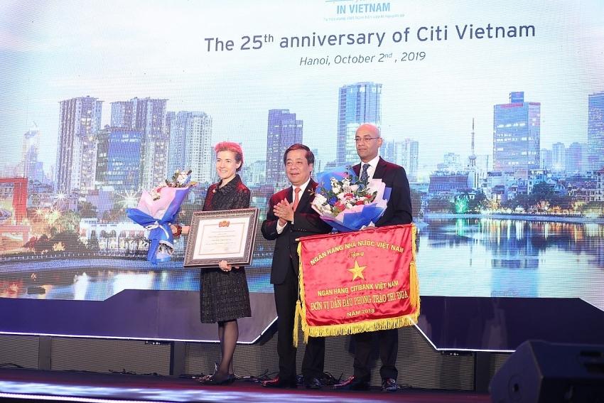 citi celebrates 25th anniversary in vietnam