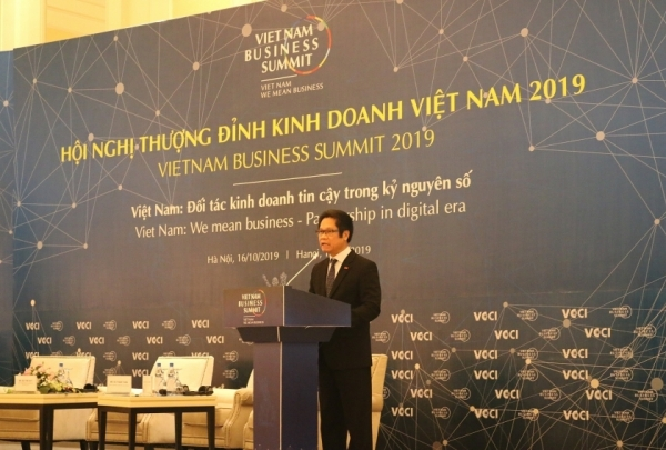 vietnam business summit 2019 highlights digital age
