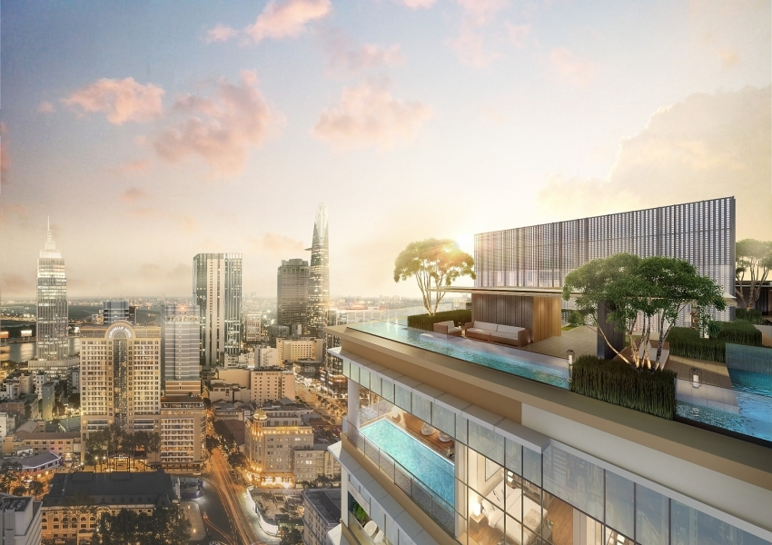 The Sky Club - exclusive resort - style amenities at The Marq
