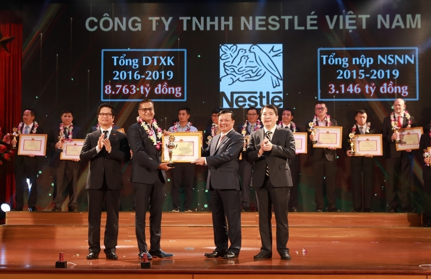 Nestlé Vietnam honoured among Vietnam's top 30 taxpayers