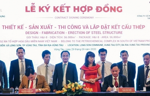 World Steel Group: signing of $10 million package at Long Son Petrochemicals project