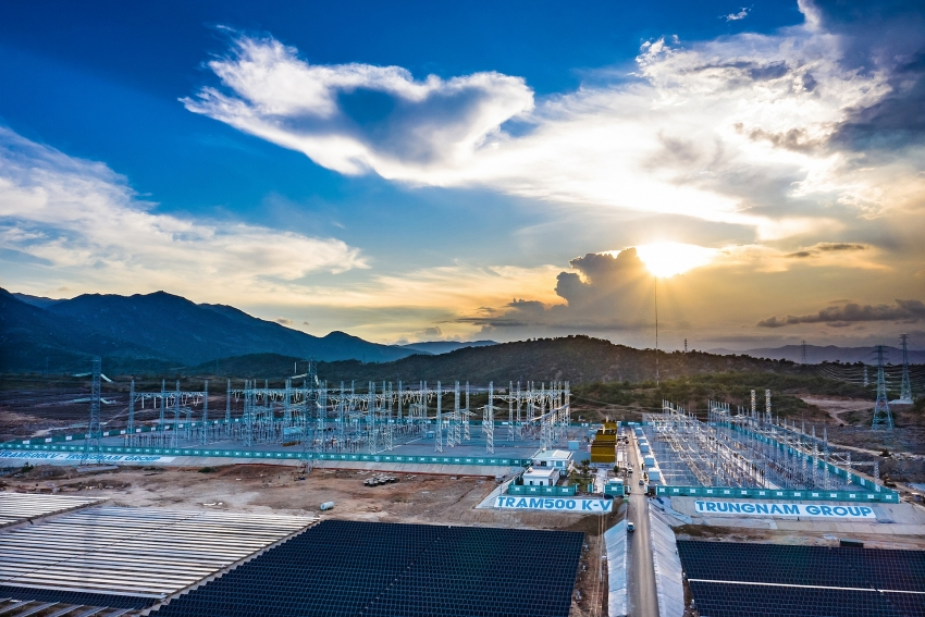 successful commissions power substation in ninh thuan by siemens energy