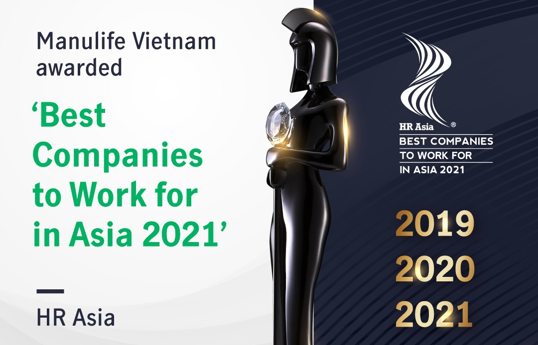 Manulife Vietnam awarded for encouraging employees to think, act, and work differently