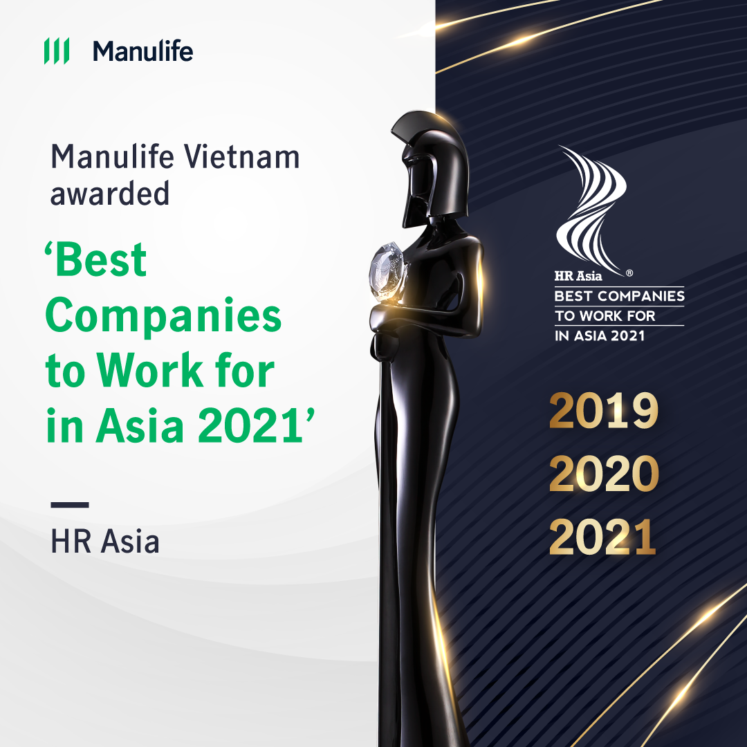 Manulife Vietnam awarded for encouraging employees to think, act and work differently