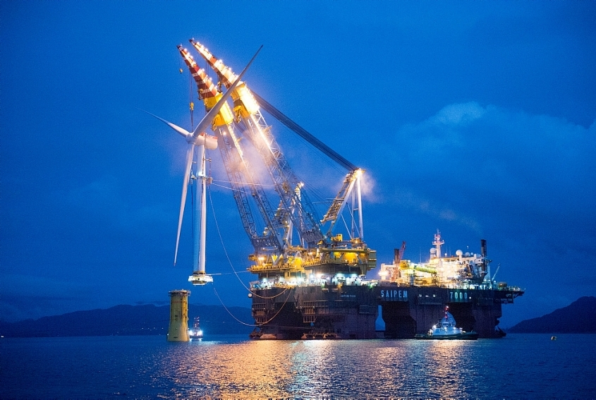 Siemens Gamesa lands world's largest floating wind power plant