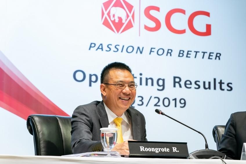 SCG upbeat despite falling operating results