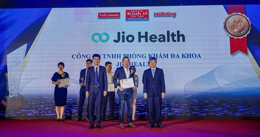 homevisit service app jio health awarded by vietnam economic times
