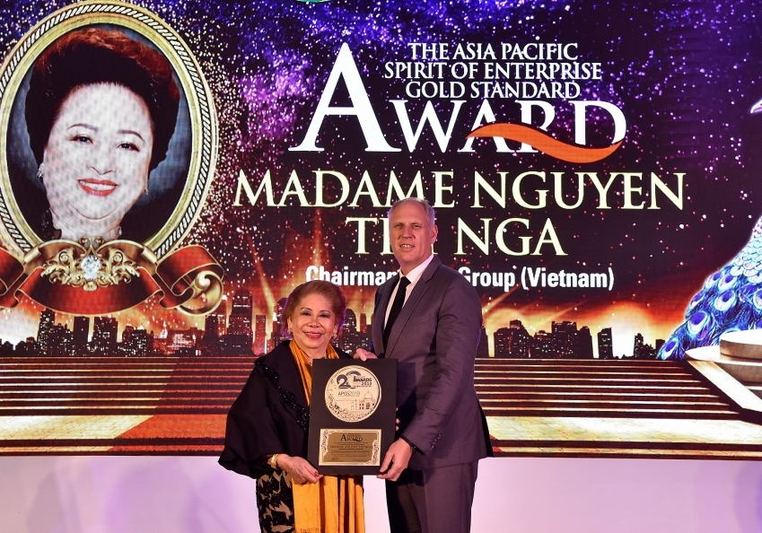 BRG Group chairwoman wins major prizes at Asian Golf Awards 2019